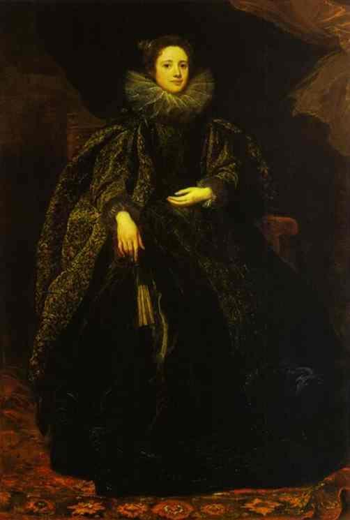 Portrait of Marchesa Balbi - Anthony van Dyck