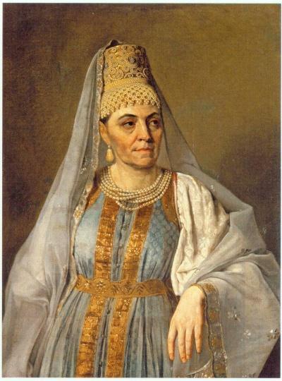 Portrait of Marfa Venetsianova - Alexey Venetsianov
