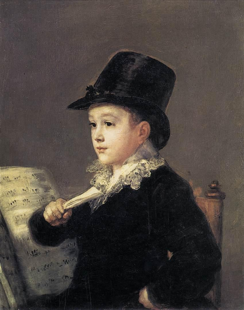 Portrait of Mariano Goya - Francisco Goya