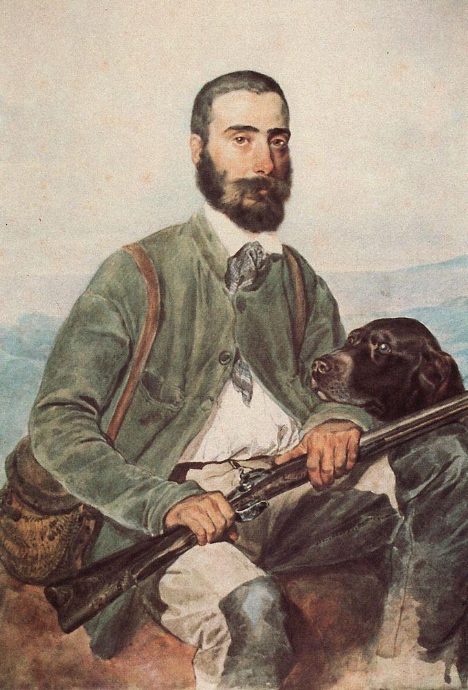 Portrait of Mariano Tittoni - Karl Bryullov