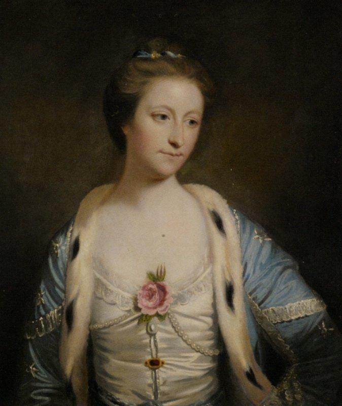 Portrait of Mary Barnardiston - Joshua Reynolds