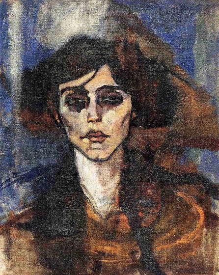 Portrait of Maude Abrantes - Amedeo Modigliani
