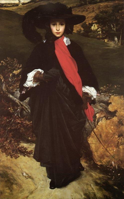 Portrait of May Sartoris - Frederic Leighton