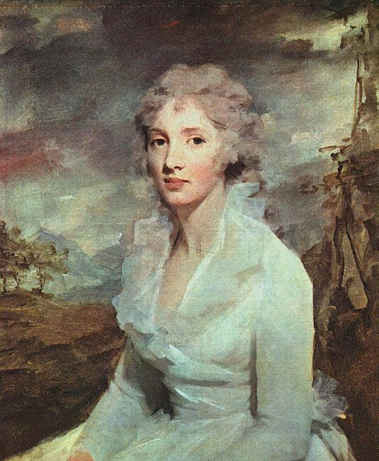 Portrait of Miss Eleanor Urquhart - Henry Raeburn