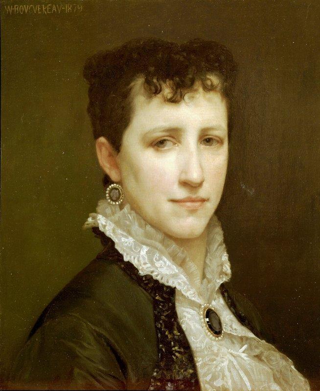 Portrait of Miss Elizabeth Gardner - William-Adolphe Bouguereau