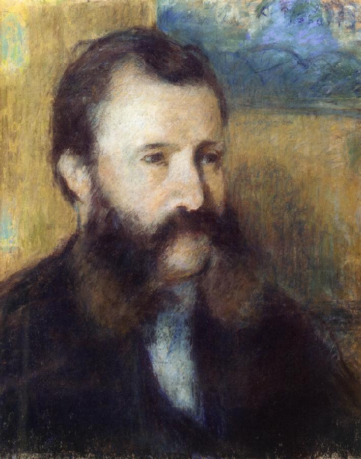 Portrait of Monsieur Louis Estruc - Camille Pissarro