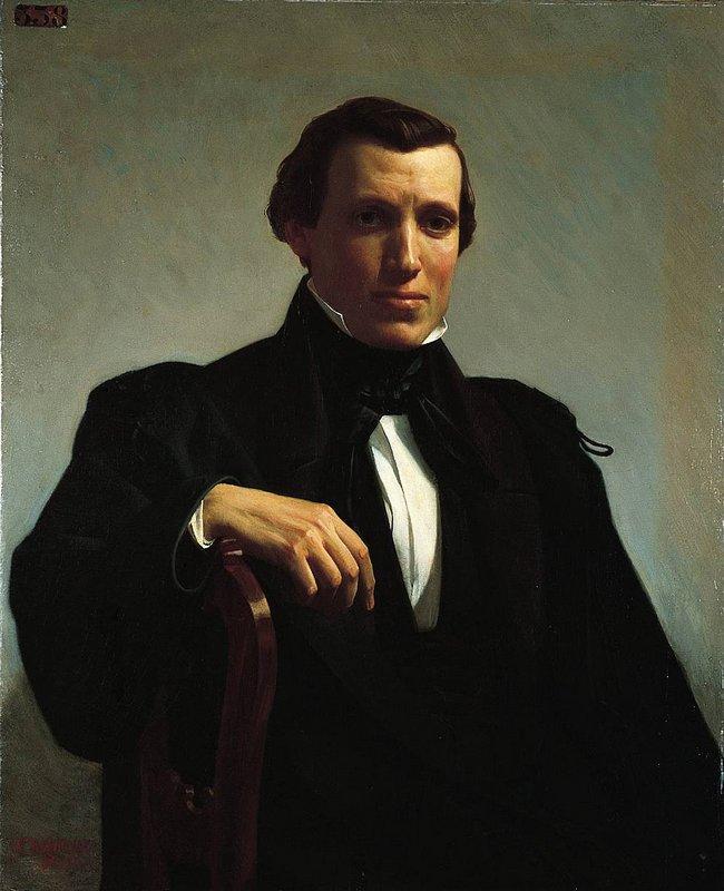 Portrait of Monsieur M. - William-Adolphe Bouguereau