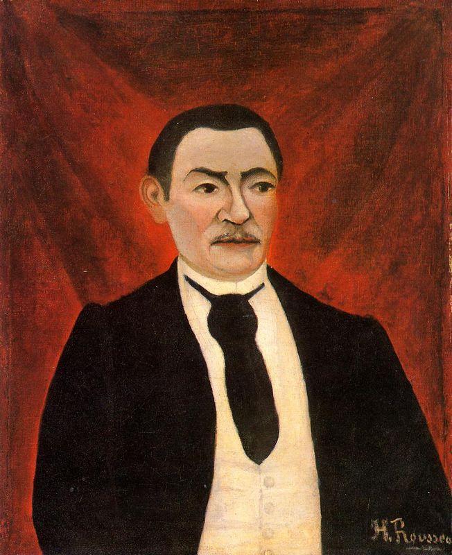 Portrait of Monsieur S - Henri Rousseau