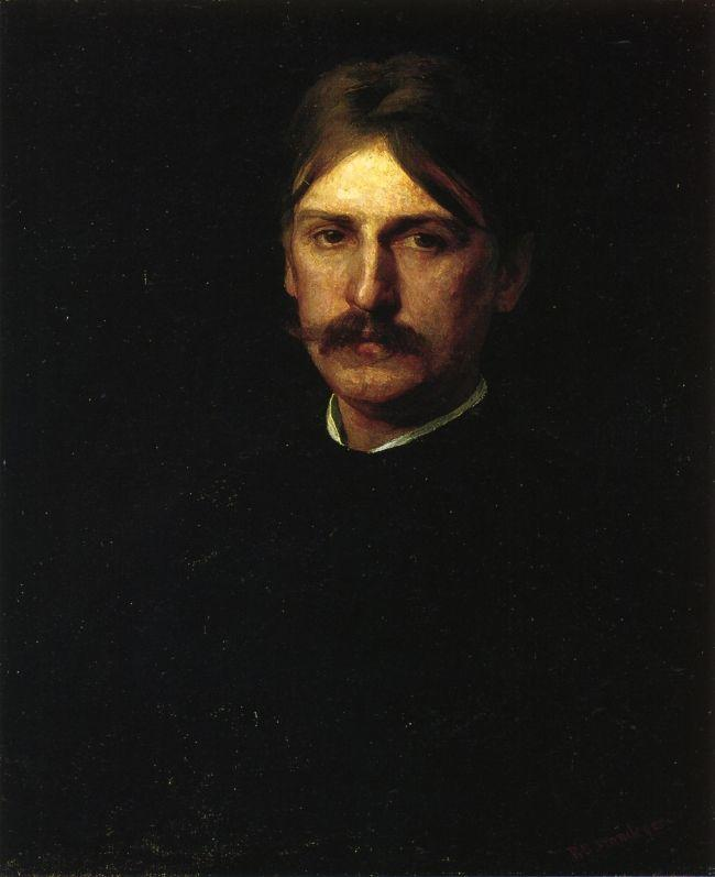 Portrait of Montague Flagg (The Wanderer) - Thomas Eakins