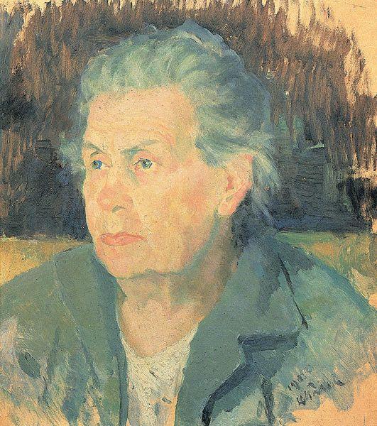 Portrait of Mother - Kazimir Malevich