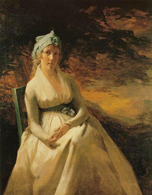 Portrait of Mrs. Andrew - Henry Raeburn
