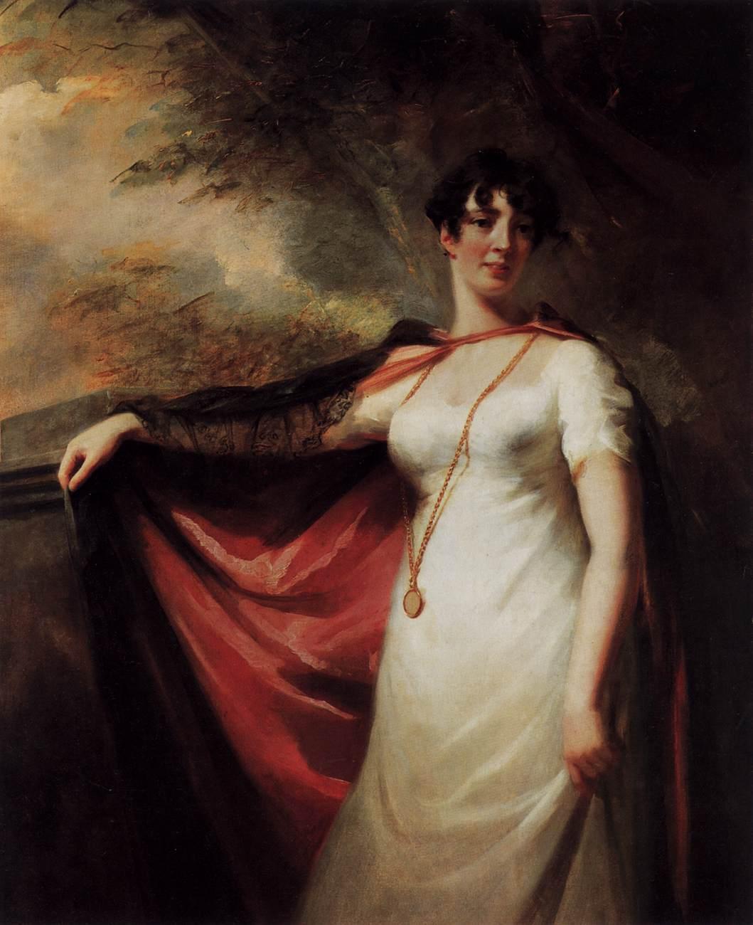 Portrait of Mrs. Anne Hart - Henry Raeburn