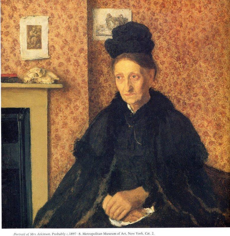 Portrait of Mrs Atkinson - Gwen John