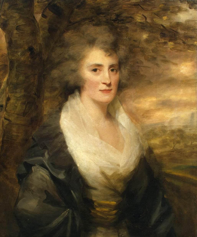Portrait of Mrs. E. Bethune - Henry Raeburn