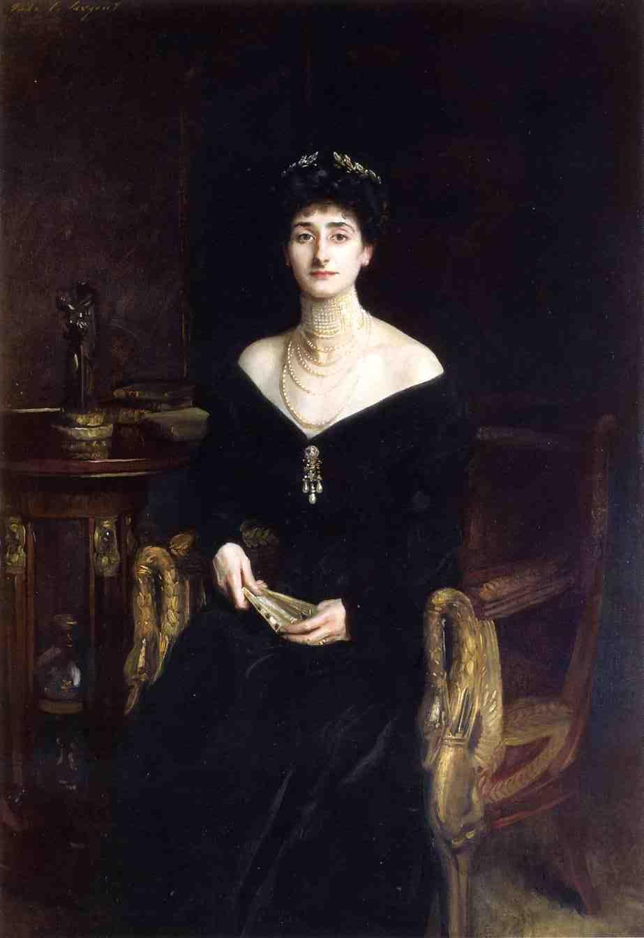 Portrait of Mrs. Ernest G. Raphael, nee Florence Cecilia Sassoon - John Singer Sargent