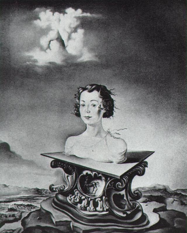 Portrait of Mrs. George Tait, II - Salvador Dali