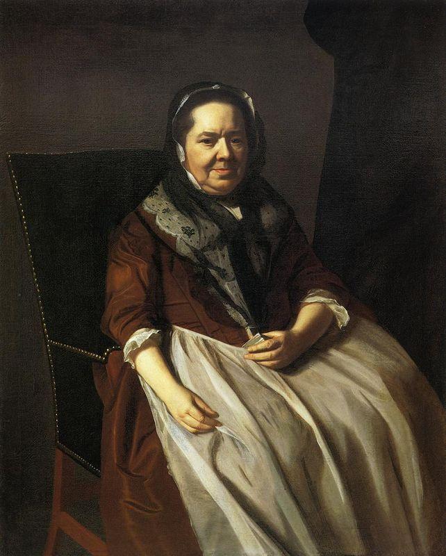 Portrait of Mrs.Paul Richard - John Singleton Copley