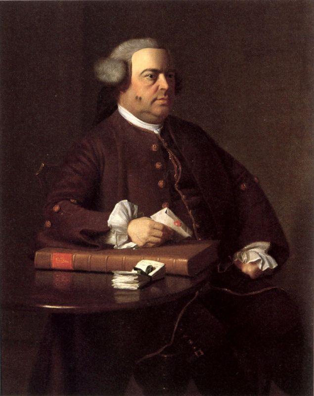 Portrait of Nathaniel Allen - John Singleton Copley
