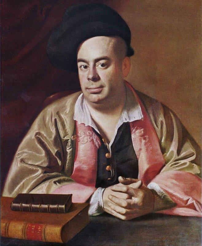 Portrait of Nathaniel Hurd - John Singleton Copley