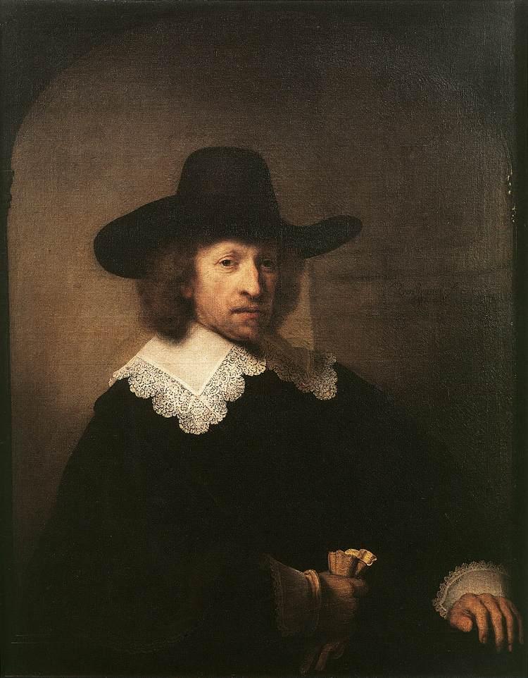 Portrait of Nicolas van Bambeeck - Rembrandt
