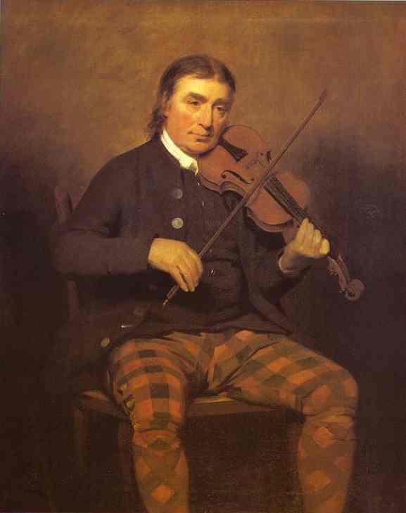 Portrait of Niel Gow - Henry Raeburn