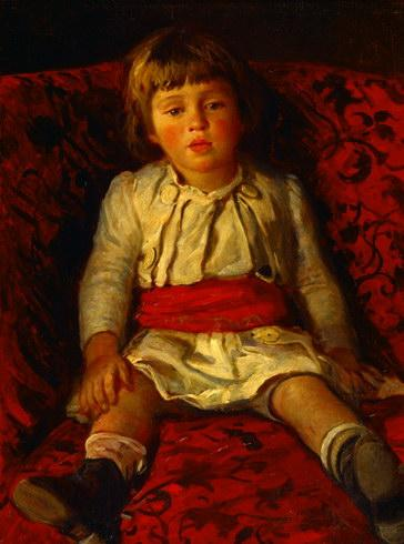 Portrait of Nikolay Ge, the Artist's Grandson - Nikolai Ge