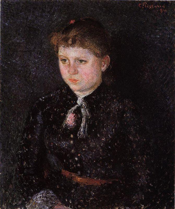 Portrait of Nini - Camille Pissarro