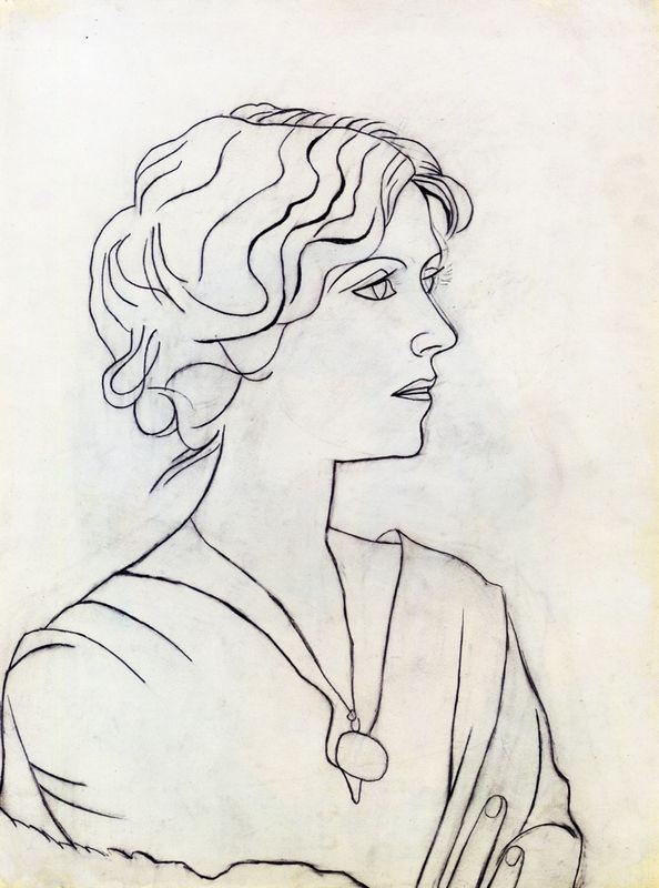 Portrait of Olga - Pablo Picasso