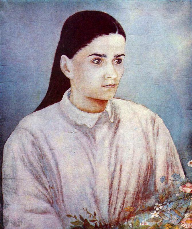 Portrait of Olya Bilokur  - Kateryna Bilokur