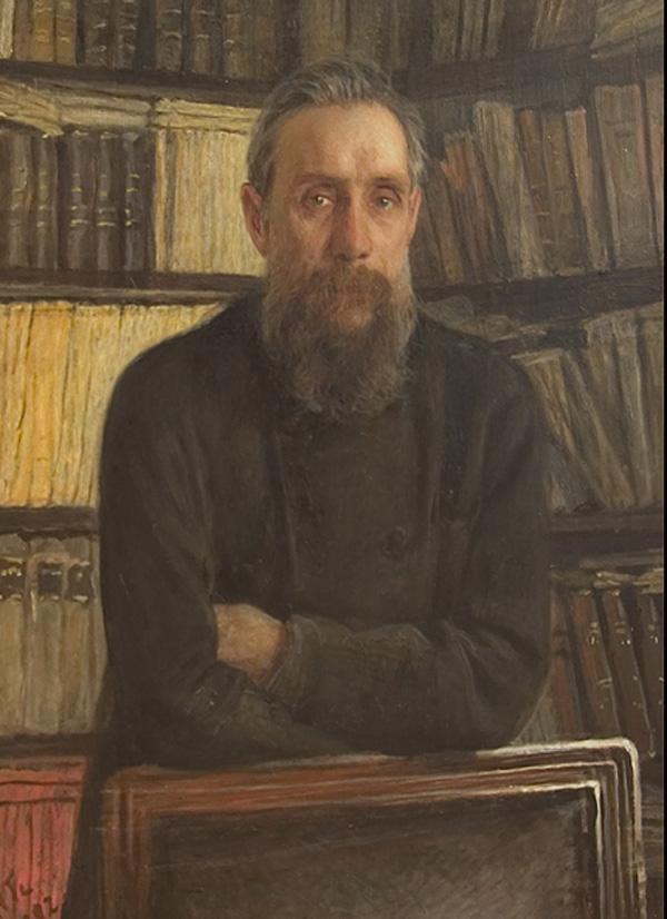 Portrait of P.A. Kostichev - Nikolai Ge