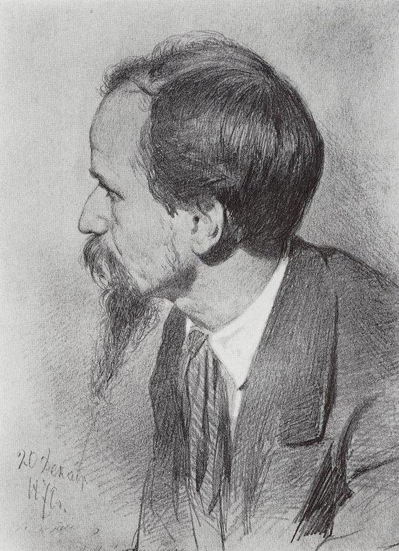 Portrait of P.P. Chistyakov - Ilya Repin