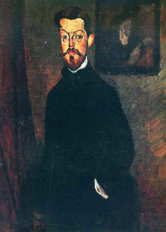 Portrait of Paul Alexandre - Amedeo Modigliani