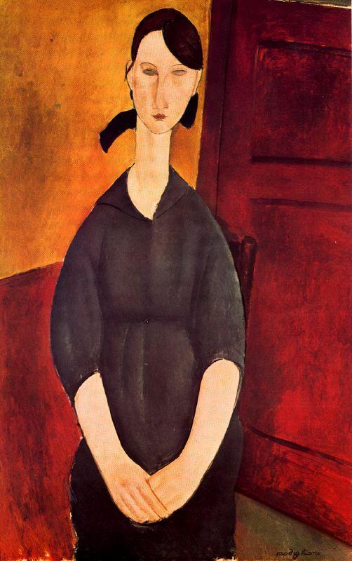 Portrait of Paulette Jourdain - Amedeo Modigliani
