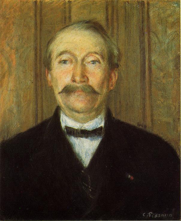 Portrait of Pere Papeille, Pontoise - Camille Pissarro