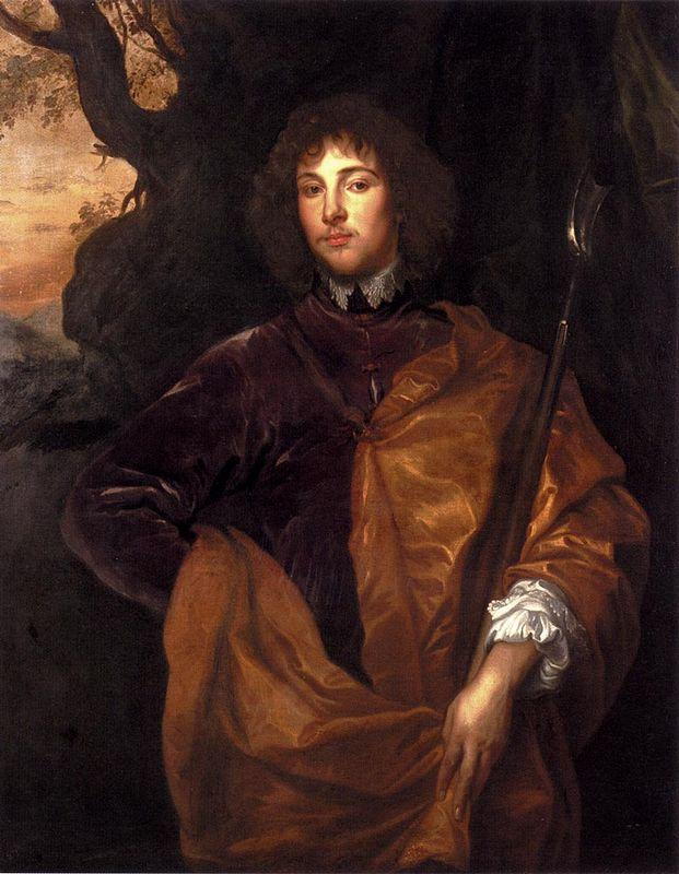 Portrait Of Philip, Lord Wharton - Anthony van Dyck