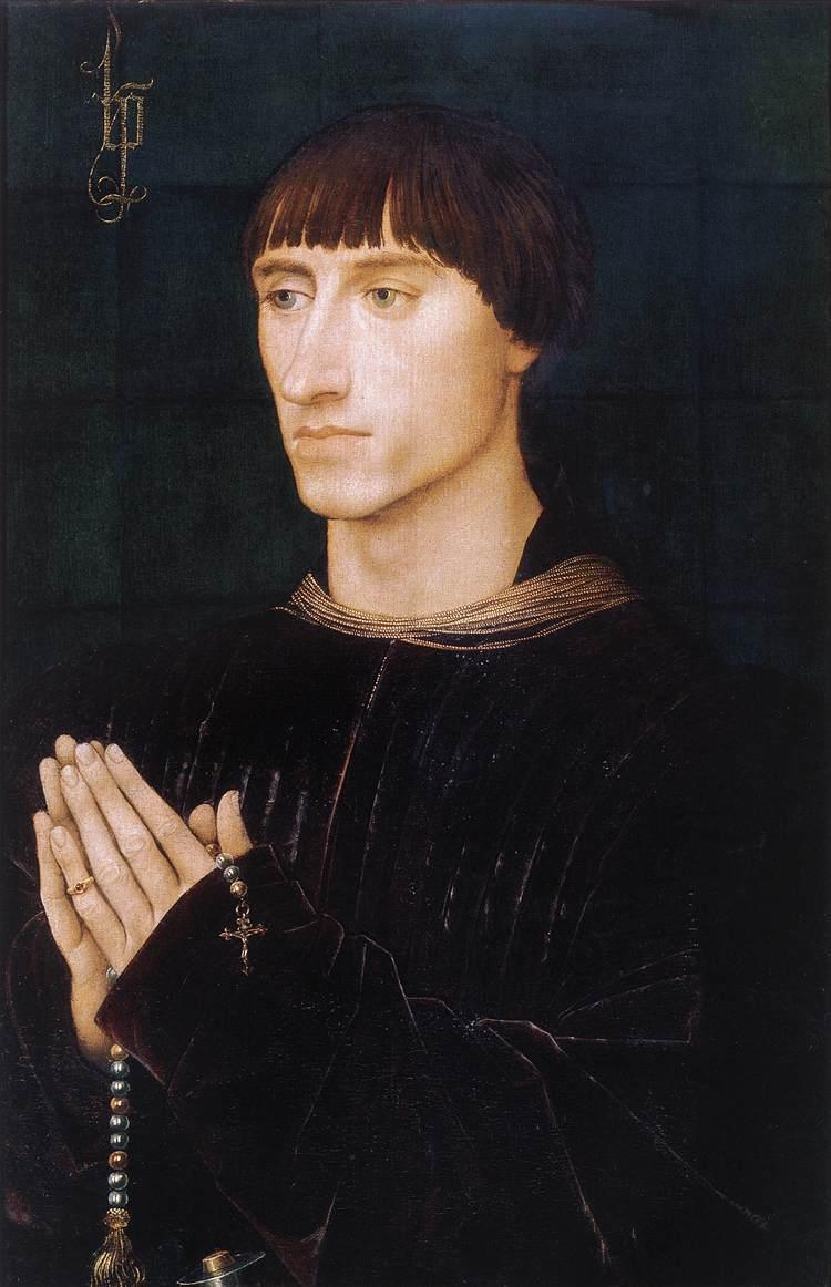 Portrait of Philippe de Croy - Rogier van der Weyden