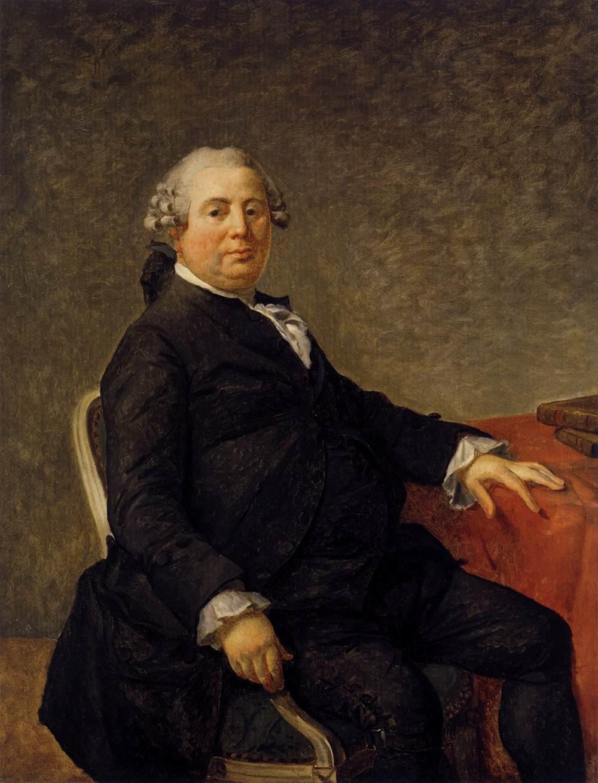 Portrait of Philippe-Laurent de Joubert  - Jacques-Louis David