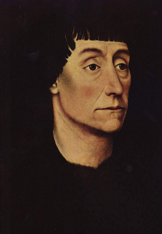 Portrait of Pierre de Beffremont - Rogier van der Weyden