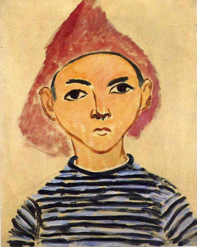 Portrait of Pierre Matisse - Henri Matisse