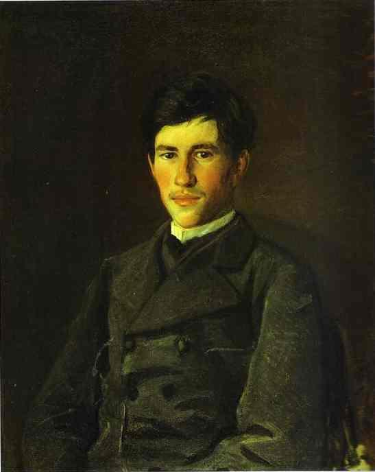 Portrait of Piotr Ge, the Artist's Son - Nikolai Ge
