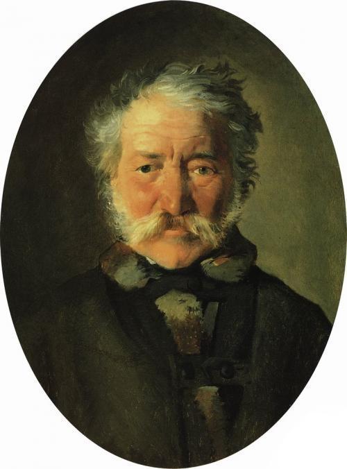 Portrait of Piotr Zabela - Nikolai Ge