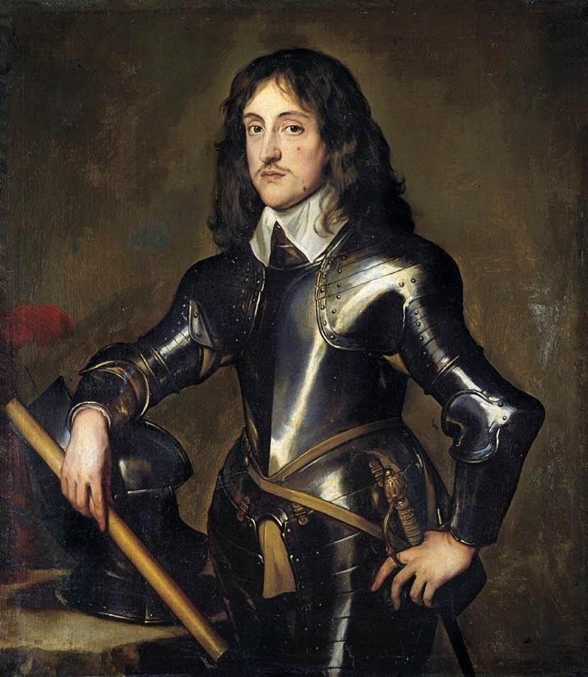 Portrait of Prince Charles Louis, Elector Palatine - Anthony van Dyck
