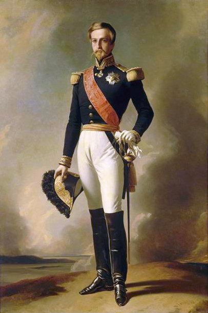 Portrait of Prince Henri, Duke of Aumale - Franz Xaver Winterhalter