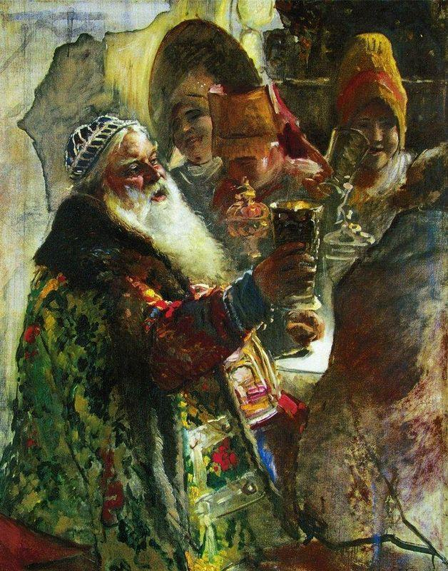 Portrait of Prince P.Vyazemsky - Konstantin Makovsky