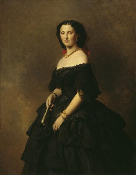 Portrait of Princess Elizaveta Alexandrovna Tchernicheva - Franz Xaver Winterhalter