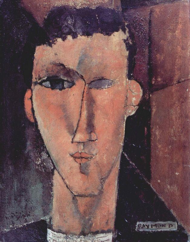 Portrait of Raymond - Amedeo Modigliani
