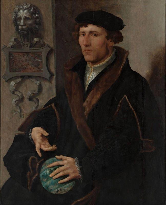 Portrait of Reinerus Frisius Gemma - Maerten van Heemskerck