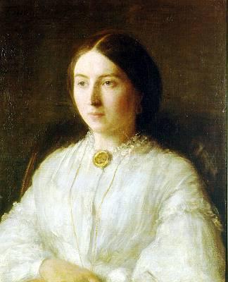 Portrait of Ruth Edwards - Henri Fantin-Latour