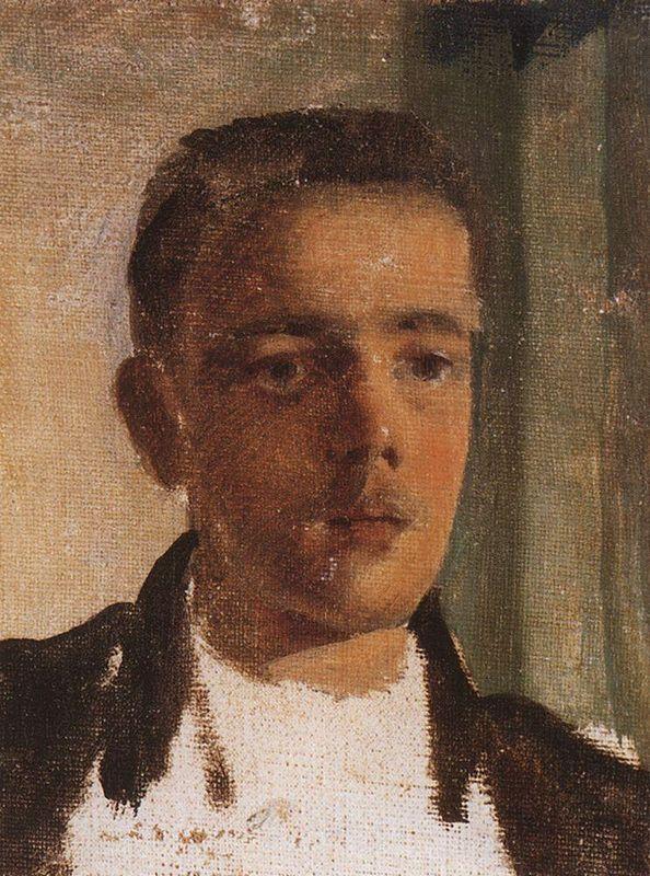 Portrait of S. Dyagilev - Konstantin Somov