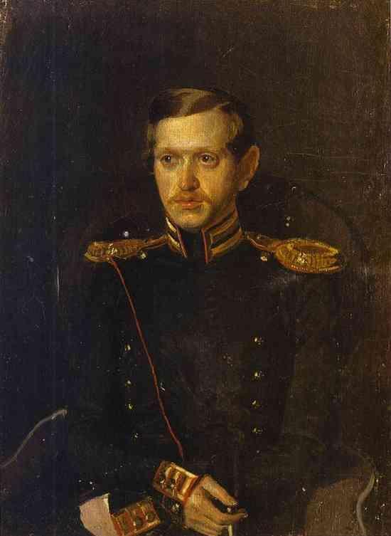 Portrait of S. S. Krylov - Pavel Fedotov